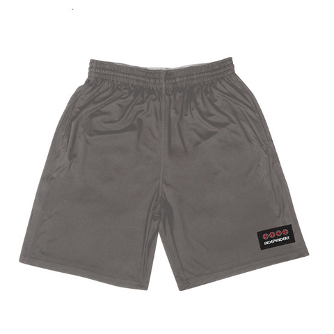 Independent Manner Basketball Shorts  Charcoal