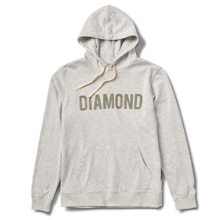 Diamond French Terry Hoodie Heather Hash