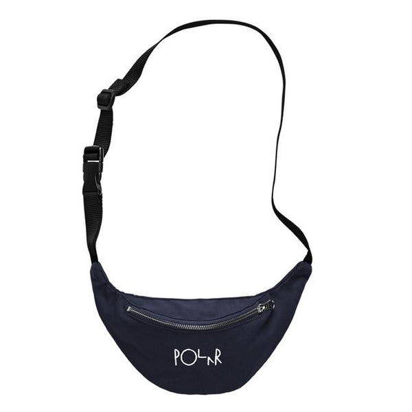 Polar Script Logo Hip Bag Navy