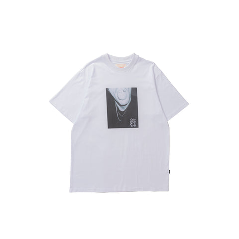 Victoria Trippy T-Shirt White/Photo Print