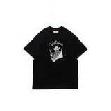 Victoria Gunman T-Shirt Heather Black/White