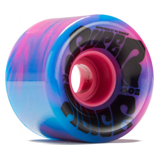 OJ Super Juice Blue Pink Swirl 78a Skateboard Wheels 60mm