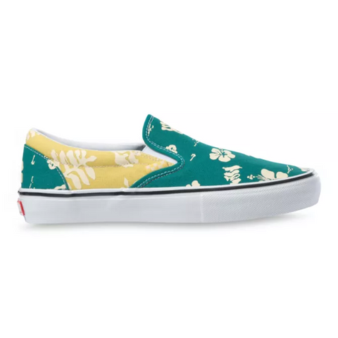 Vans Skate Slip-On Aloha Marine/Gold