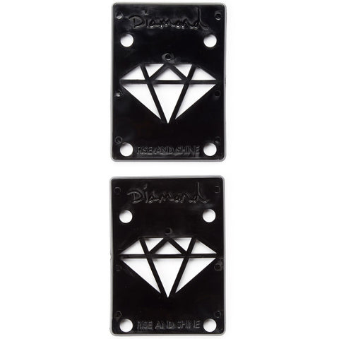 Diamond Rise and Shine Risers Black
