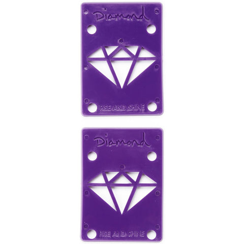 Diamond Rise and Shine Risers Purple