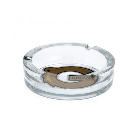 Grizzly G Logo Glass Ashtray