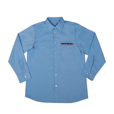 Independent Grindstone L/S Work Shirt Working Blue