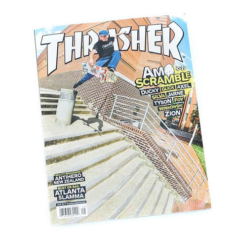 Thrasher Magazine August 2017