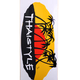 Tricket Thaistyle Pattaya Fighting Skateboard Deck 8.0