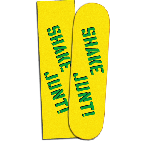 Shake Junt Yellow/Green Grip Tape