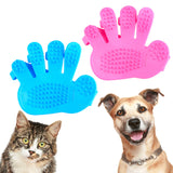 Dog Massaging Brush Glove