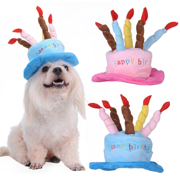 Happy Birthday Hat For Dogs JB Pooches