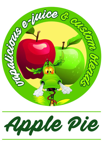 Majik Dragon E Liquids - Apple Pie