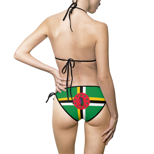 Dominica Bikini Swimsuit (Full Set) - Live Love Soca Clothing & Accessories