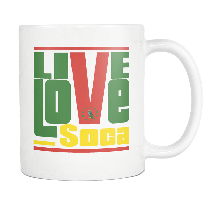 DOMINICA MUG - Live Love Soca Clothing & Accessories