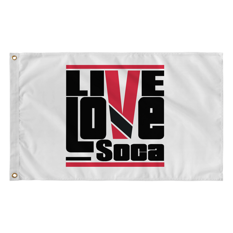 TRINIDAD FLAG (WHITE) - Live Love Soca Clothing & Accessories