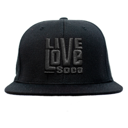 Snapback Hat - Black Edition - Live Love Soca Clothing & Accessories