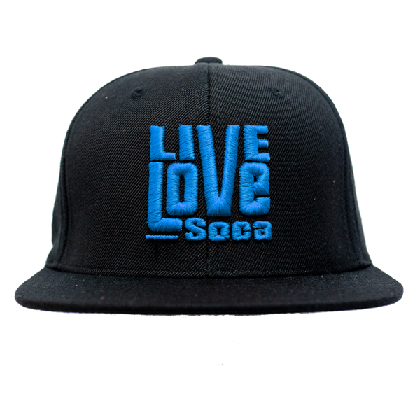 Snapback Hat - Blue - Live Love Soca Clothing & Accessories
