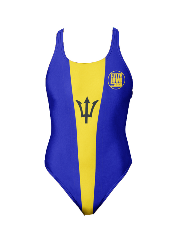 Barbados One-Piece Swimsuit - Live Love Soca Clothing & Accessories
