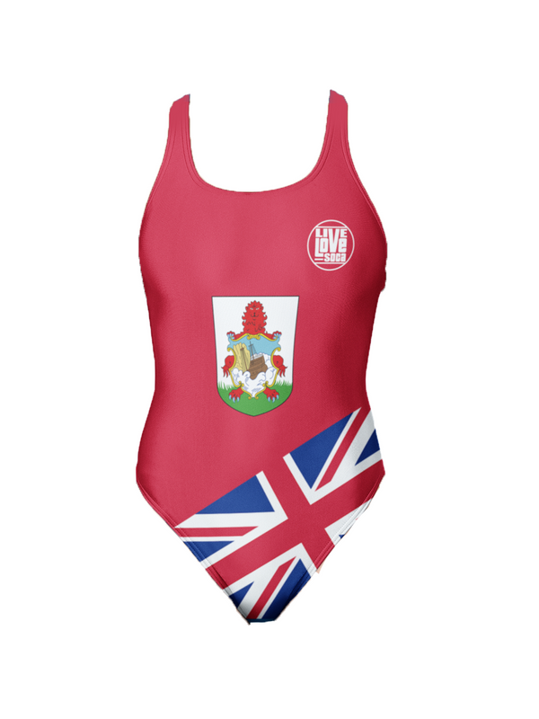 Bermuda One-Piece Swimsuit - Live Love Soca Clothing & Accessories