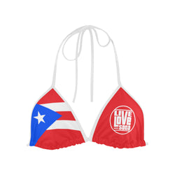 Puerto Rico Bikini Swimsuit (Top) - Live Love Soca Clothing & Accessories