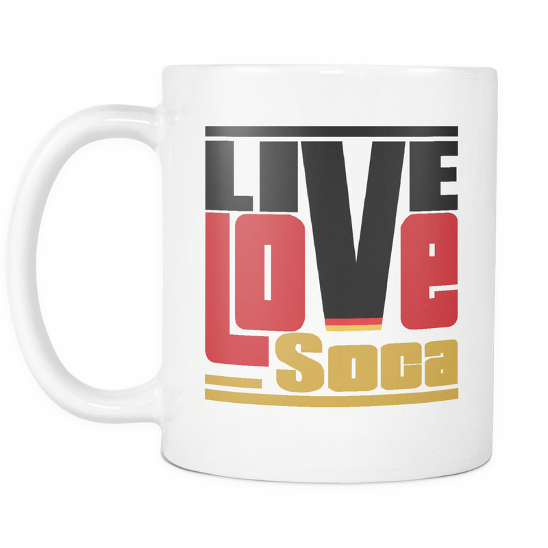 GERMANY MUG - Live Love Soca Clothing & Accessories