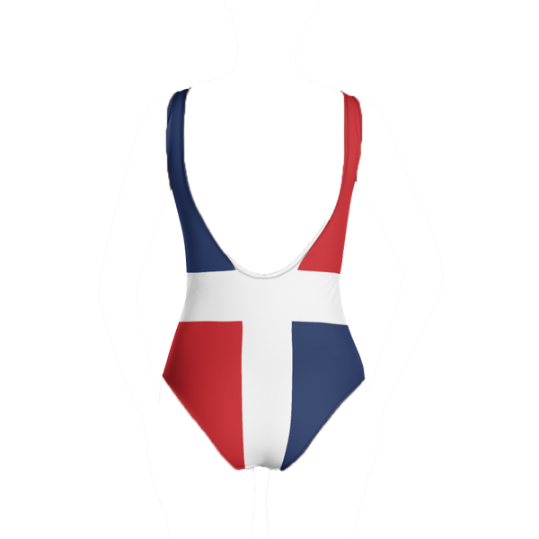 Dominica Republic One-Piece Swimsuit - Live Love Soca Clothing & Accessories