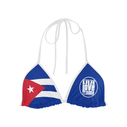Cuba Bikini Swimsuit (Top) - Live Love Soca Clothing & Accessories