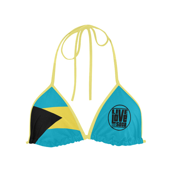 Bahamas Bikini Swimsuit (Top) - Live Love Soca Clothing & Accessories