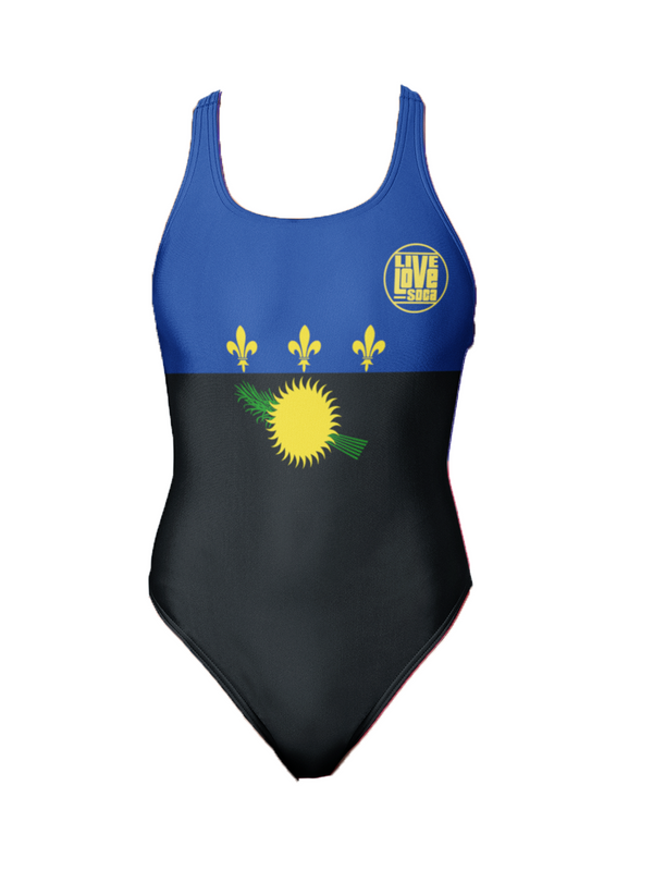 Guadeloupe One-Piece Swimsuit - Live Love Soca Clothing & Accessories