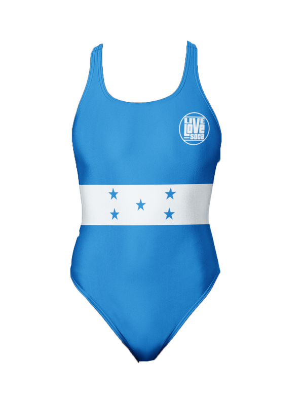 Honduras One-Piece Swimsuit - Live Love Soca Clothing & Accessories