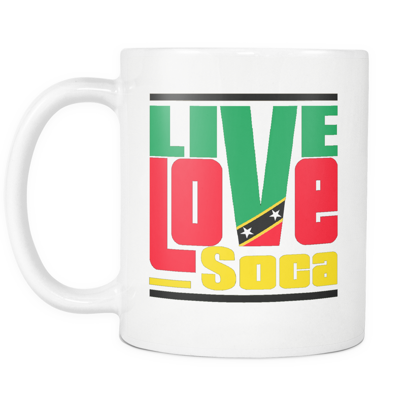 ST. KITTS & NEVIS MUG - Live Love Soca Clothing & Accessories