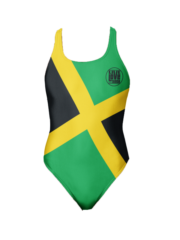 Jamaica One-Piece Swimsuit - Live Love Soca Clothing & Accessories