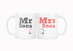 MR & MRS SOCA MUG - Live Love Soca Clothing & Accessories