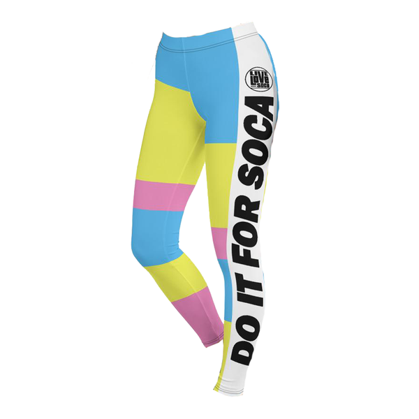 Endless Summer 20 DIFS - Quirky Sensation Active Leggings