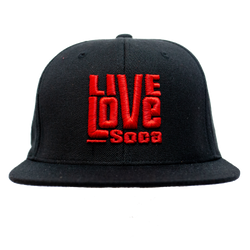 Snapback Hat - Red - Live Love Soca Clothing & Accessories
