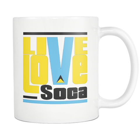 ST. LUCIA MUG - Live Love Soca Clothing & Accessories