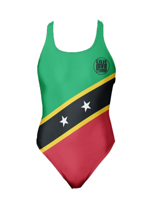 Saint Kitts One-Piece Swimsuit - Live Love Soca Clothing & Accessories