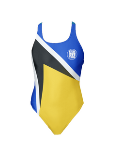 St. Lucia One-Piece Swimsuit - Live Love Soca Clothing & Accessories