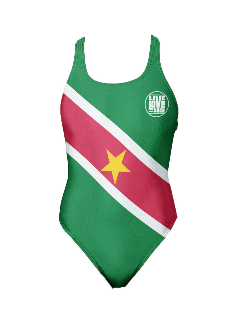 Suriname One-Piece Swimsuit - Live Love Soca Clothing & Accessories
