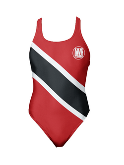 Trinidad & Tobago One-Piece Swimsuit - Live Love Soca Clothing & Accessories
