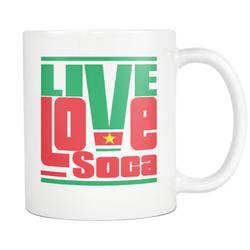 SURINAME MUG - Live Love Soca Clothing & Accessories