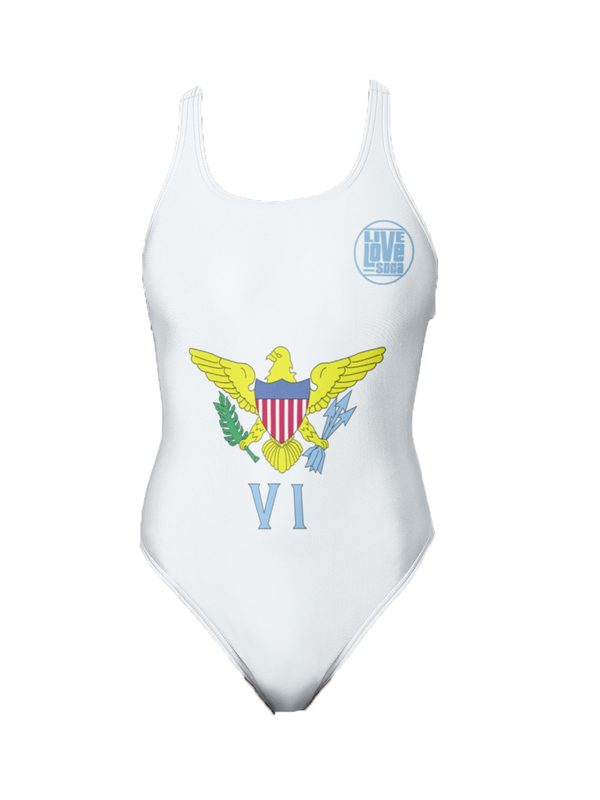 Virgin Island One-Piece Swimsuit - Live Love Soca Clothing & Accessories