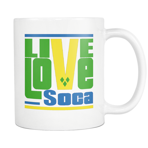 ST VINCENT MUG - Live Love Soca Clothing & Accessories