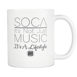 IT'S A LIFESTYLE MUG (Designed By Live Love Soca) - Live Love Soca Clothing & Accessories