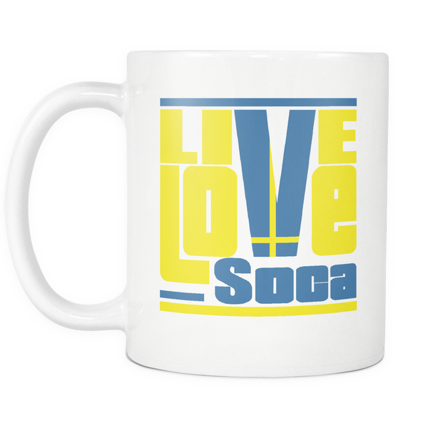 SWEDEN MUG - Live Love Soca Clothing & Accessories