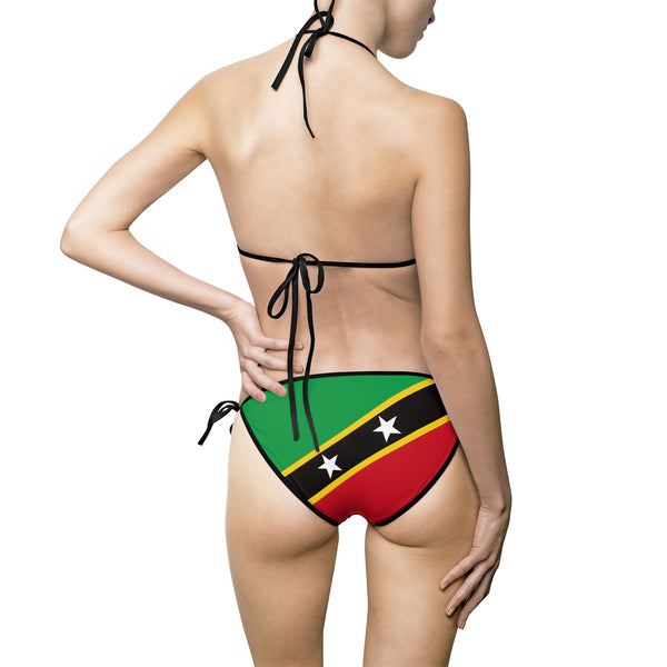 Saint Kitts & Nevis Bikini Swimsuit (Full Set) - Live Love Soca Clothing & Accessories