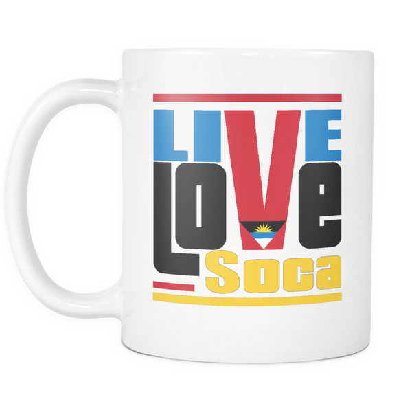 ANTIGUA & BARBUDA MUG - Live Love Soca Clothing & Accessories