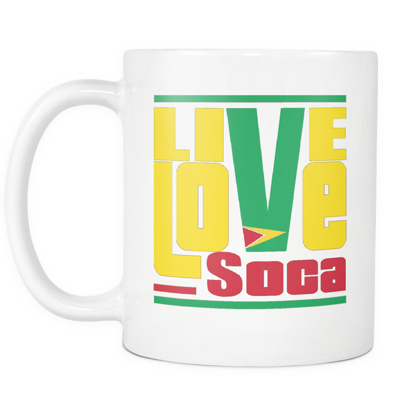 GUYANA MUG - Live Love Soca Clothing & Accessories
