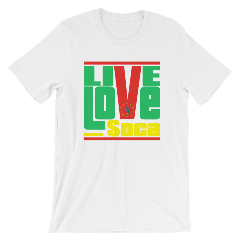 Dominica Islands Edition Mens T-Shirt - Live Love Soca Clothing & Accessories